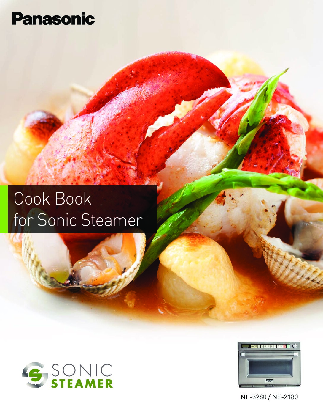 Panasonic – 2021 Sonic Steamer Cooking Guide