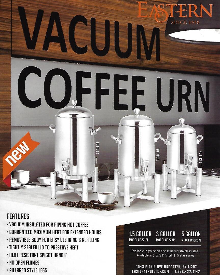 Eastern -Vacuum Coffee Urn