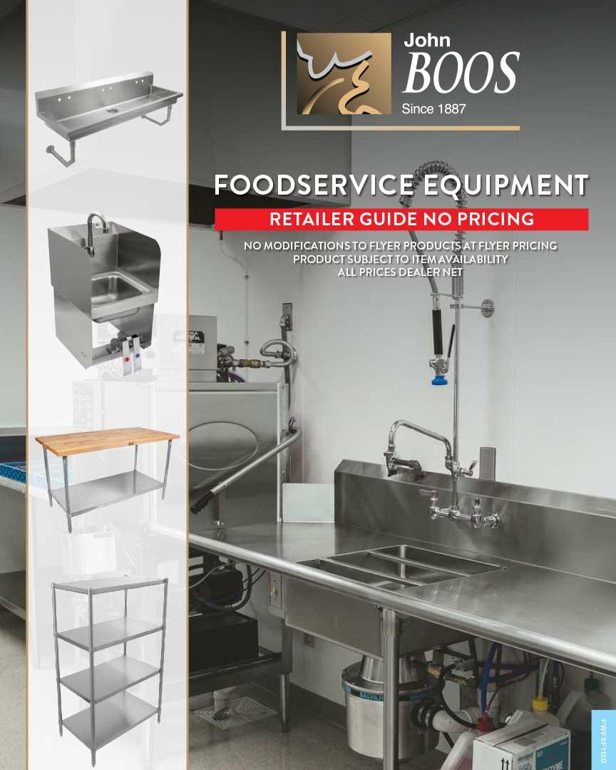 John Boos – FoodService Equipment