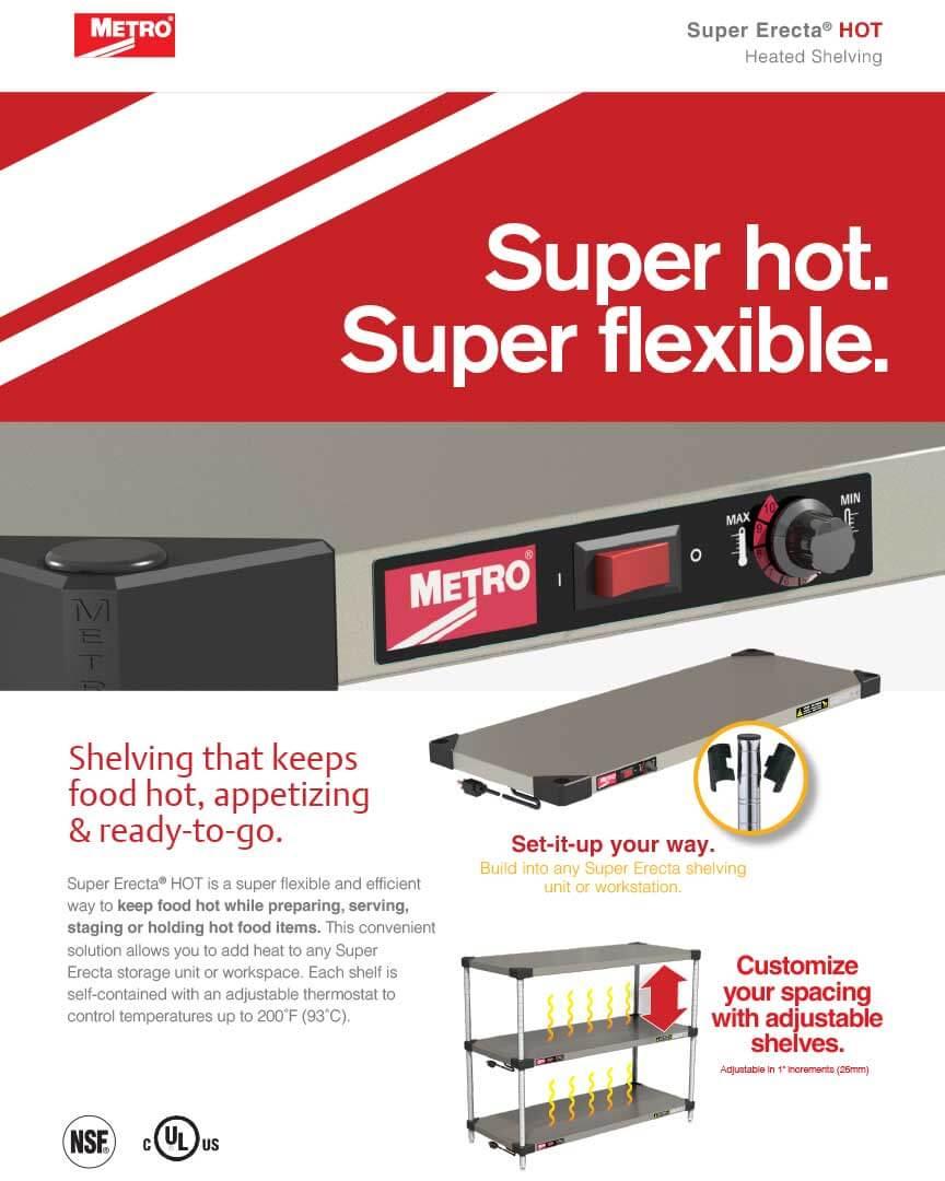 Metro Super Erecta Hot