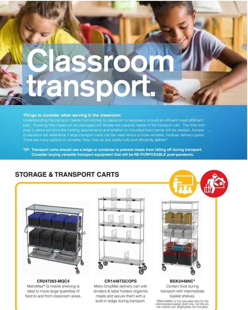 Metro – Classroom Transport